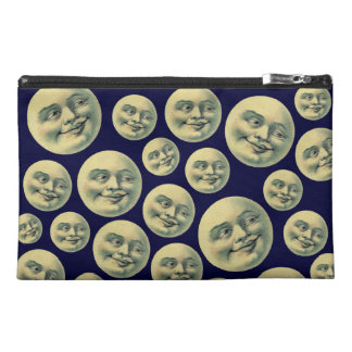 Vintage Man in the Moon Travel Accessory Bags