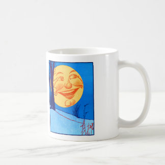 Vintage Man in the Moon W.W. Denslow Illustration Coffee Mug