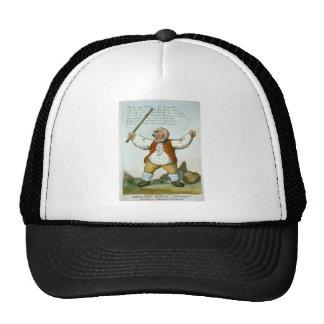 Vintage Man with Stick Trucker Hat