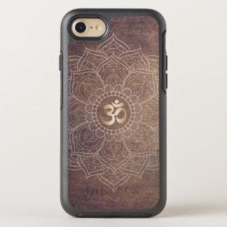 Vintage Mandala Namaste Gold Yoga Om Sign Elegant OtterBox Symmetry iPhone 7 Case