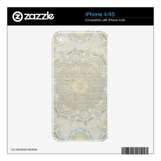 Vintage mandala skins for the iPhone 4S