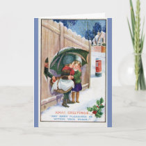 Vintage - Many Christmas Pleasures, Card