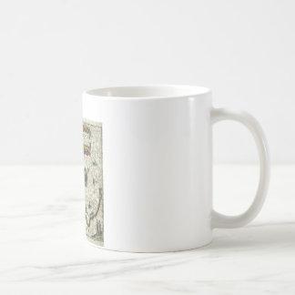 vintage map 1 coffee mug