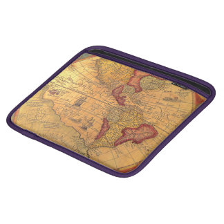 Vintage Map IPad Sleeve