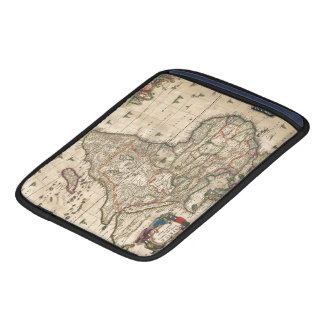 Vintage Map of Africa (1689) Sleeve For iPads
