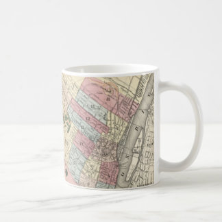 Vintage Map of Albany NY (1874) Coffee Mug