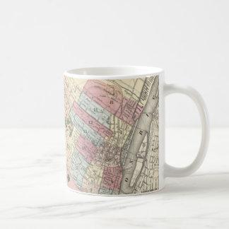 Vintage Map of Albany NY (1874) Classic White Coffee Mug