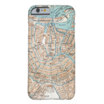 Vintage Map of Amsterdam (1905) Barely There iPhone 6 Case