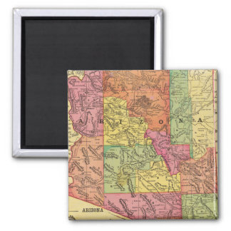 Vintage Map of Arizona (1909) Magnet