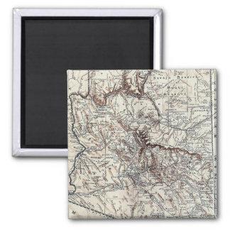 Vintage Map of Arizona 1911 Fridge Magnet