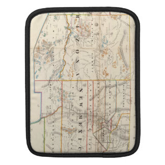 Vintage Map of Arizona and New Mexico (1866) iPad Sleeve