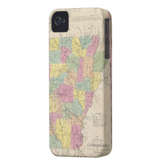 Vintage Map of Arkansas (1853) Case-Mate iPhone 4 Case