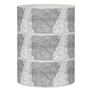 Vintage Map of Arkansas (1911) Flameless Candle