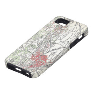 Vintage Map of Arnhem and Surrounding Areas (1905) iPhone 5 Cover