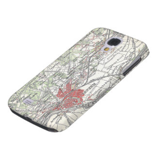 Vintage Map of Arnhem and Surrounding Areas (1905) Galaxy S4 Case