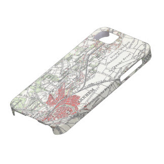 Vintage Map of Arnhem and Surrounding Areas (1905) iPhone 5 Covers