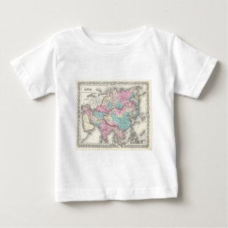 Vintage Map of Asia (1855) Baby T-Shirt