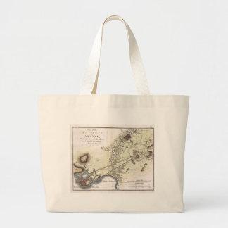 Vintage Map of Athens (1784) Tote Bag
