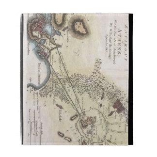 Vintage Map of Athens (1784) iPad Folio Cases