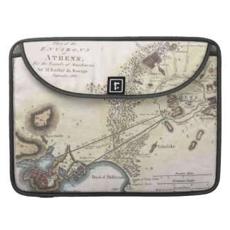 Vintage Map of Athens (1784) MacBook Pro Sleeve