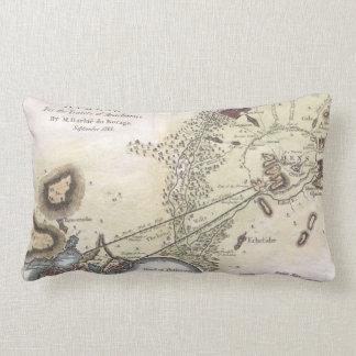 Vintage Map of Athens (1784) Pillows