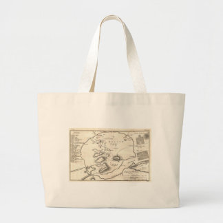 Vintage Map of Athens Greece (1784) Tote Bags
