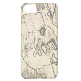 Vintage Map of Athens Greece (1784) iPhone 5C Cover