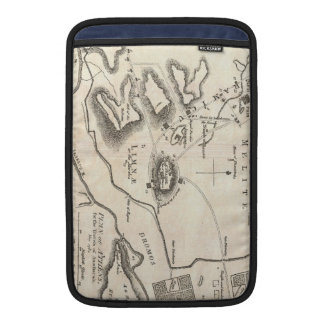 Vintage Map of Athens Greece (1784) MacBook Sleeve