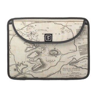 Vintage Map of Athens Greece 1784 MacBook Pro Sleeves