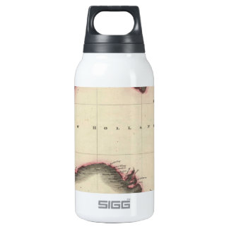 Vintage Map of Australia (1817) Thermos Water Bottle
