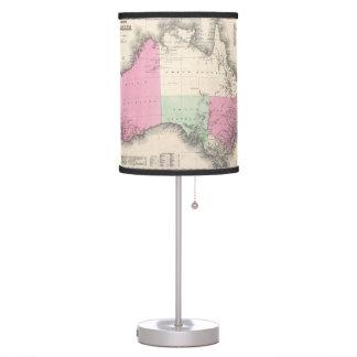 Vintage Map of Australia (1862) Desk Lamp