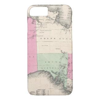 Vintage Map of Australia (1862) iPhone 7 Case