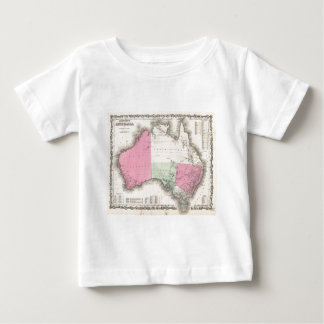 Vintage Map of Australia (1862) T-shirt