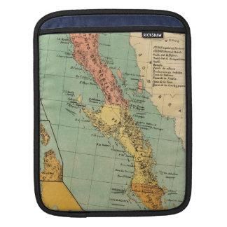 Vintage Map of Baja California (1899) iPad Sleeves