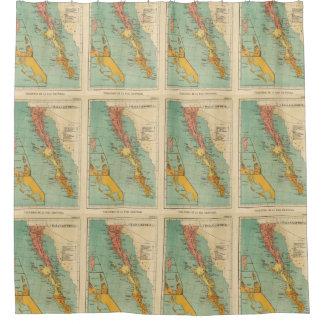 California Map Shower Curtains | Zazzle