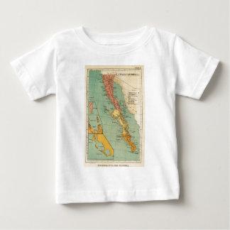 Vintage Map of Baja California (1899) T-shirt