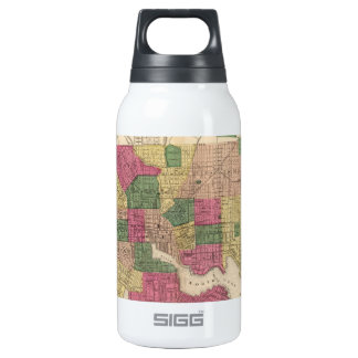Vintage Map of Baltimore (1873) 10 Oz Insulated SIGG Thermos Water Bottle