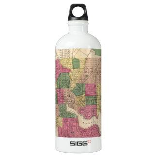 Vintage Map of Baltimore (1873) SIGG Traveler 1.0L Water Bottle