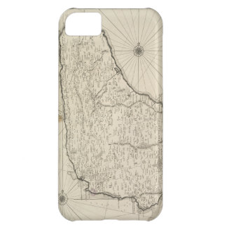 Vintage Map of Barbados 1725 iPhone 5C Covers