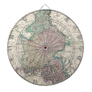 Vintage Map of Bavaria Germany 1799 Dart Board