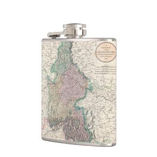 Vintage Map of Bavaria Germany 1799 Hip Flask
