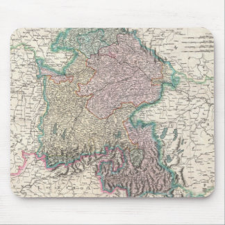 Vintage Map of Bavaria Germany (1799) Mouse Pad