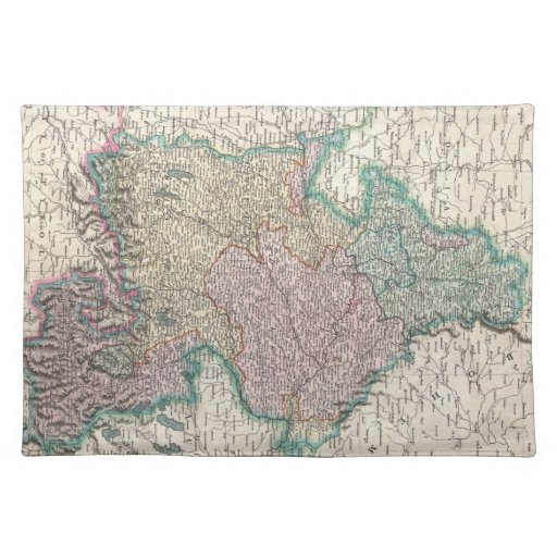 Vintage Map of Bavaria Germany (1799) Placemat
