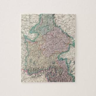 Vintage Map of Bavaria Germany 1799 Puzzle