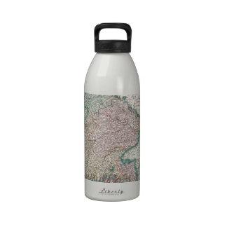 Vintage Map of Bavaria Germany 1799 Water Bottle
