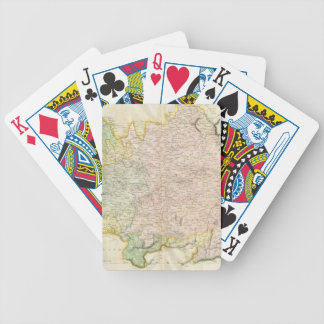 Vintage Map of Bavaria Germany (1814) Bicycle Playing Cards