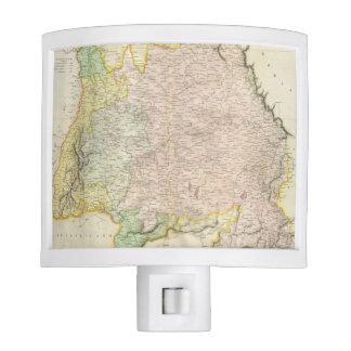 Vintage Map of Bavaria Germany 1814 Nite Lites