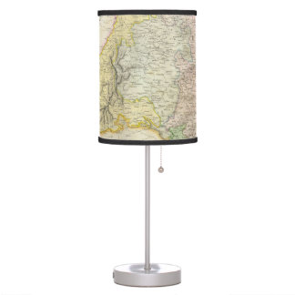 Vintage Map of Bavaria Germany (1814) Desk Lamp