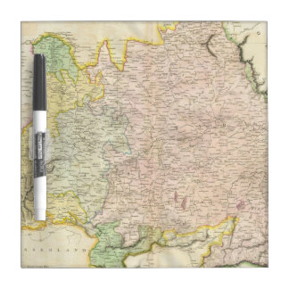 Vintage Map of Bavaria Germany 1814 Dry Erase Whiteboard