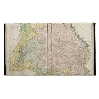 Vintage Map of Bavaria Germany (1814) iPad Case